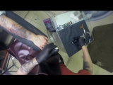 Tattoo Artist Dmitry Orlovsky In progress