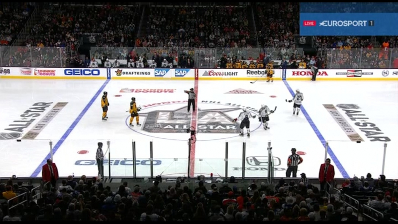 2017 NHL All-Star Game: Metropolitan vs Atlantic 29/01/2017