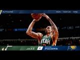 Хайлайты Юты в матче с Pacers  21.03.17
