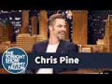 Chris Pine Has a Great Impression of Jeff Bridges Laughing