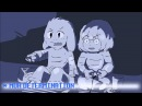 Cute Undertale animations Frisk and Asriel RUS SUB ВКЛЮЧИТЕ СУБТИТРЫ!
