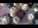 Клубничная меренга * клубничное безе * Strawberry meringue