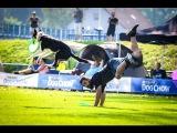Paco Lobo &amp Sza freestyle Dogfrisbee EC 2016