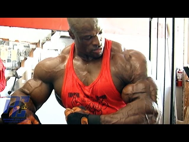Ronnie Coleman The Unbelievable Remastered in 1080 HD Part 4 Back Bi's