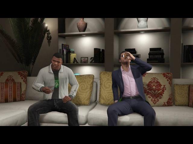 GTA 5 - Trevor'ı Dert Etme..Ölmüş Olması Lazım / Sinematik Sahne - Türkçe