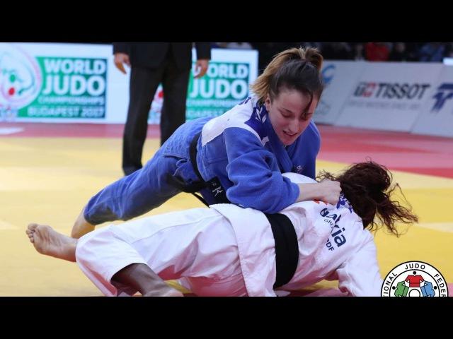 Judo Paris 2017. GNETO Astride (FRA) vs KRASNIQI Distria (KOS) 52 kgBronze