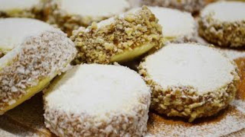 ПЕЧЕНЬЕ (Пирожные) АЛЬФАХОРЕС   Нереально вкусное!   Alfajores   Cookies/ sandwich cookies