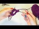 Magic loop или как вязать маленькие изделия на круговых спицах с длинной леской
