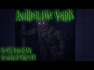 [FNAF SFM] Another Five Nights by JT Machinima