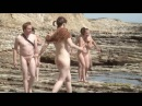 Prowling Panther Beach nudist group explores oceanside rock formations