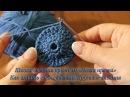 7 Как вязать соединительный столбик круговое вязания Уроки вязания крючком
