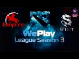 Team Empire vs Team Spirit | WePlay Dota 2 S3 Lan Finals (28.04.2016) Dota 2