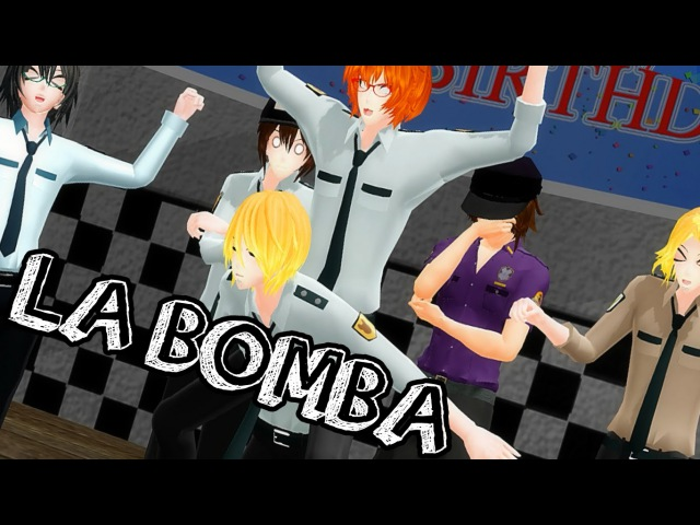 【MMD x FnaF】When the Nightguards have free time...【La Bomba Meme】