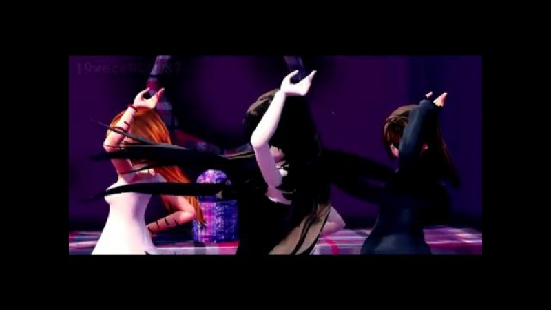 【 CreepyPasta х MMD】 『Tik Tok 』 【 Suicide Sadie х Jane the Kille х Clockwork 】 MMD