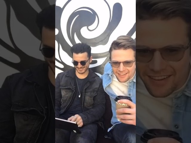 Michael Malarkey and Zach Roerig are answer fans questions