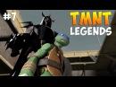Черепашки-Ниндзя Легенды. Прохождение CHAPTER 3 NORMAL TMNT Legends IOS Gameplay 2016