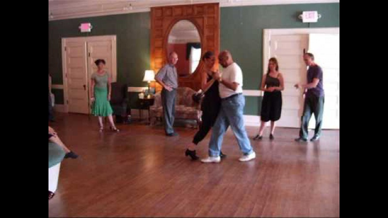 Milonga Traspie Class with Facundo Posadas Christy Cote in Brandon Vermont