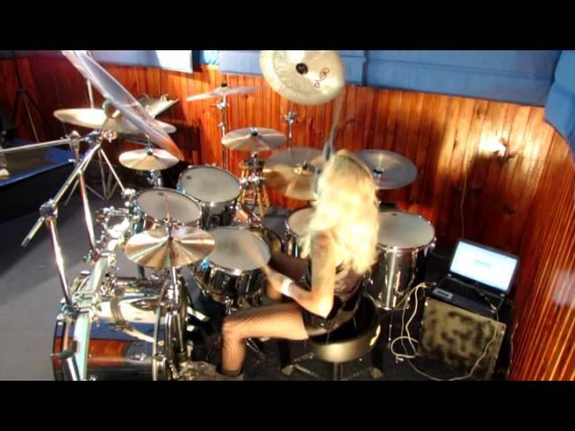 Jully Lee (Drummer Girl) COZY POWELL TRIBUTE- STARGAZER (RAINBOW) 23