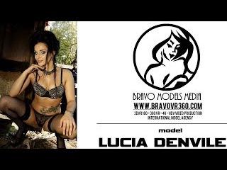 Bravo Models Media 3D VR sexy videos - LUCIA DENVILE in old train dark art