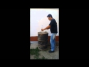 биогаз из бочки how to make biogas from drums