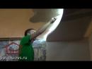 Как мы устанавливаем натяжные потолки  от РВС-СЕРВИС