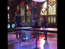 › Кэтрин, Доминик Шервуд и Мэттью Даддарио на съемках второй части второго сезона | Торонто, Канада