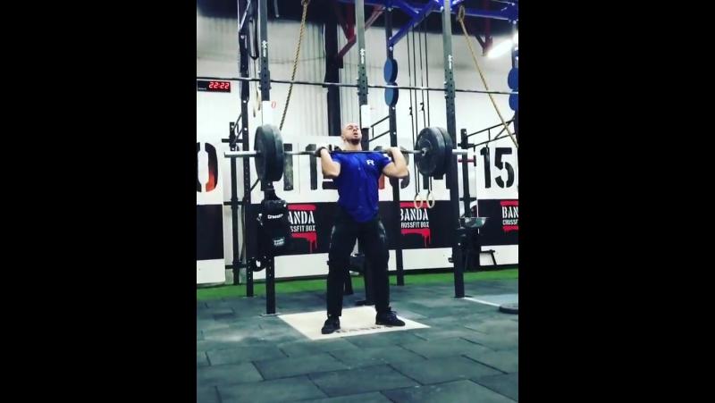 ТА -done✔️ Тренер Мастер спорта по Тяжелой атлетике и сертифицированный тренер CrossFit Level 1 Максим Алексеев