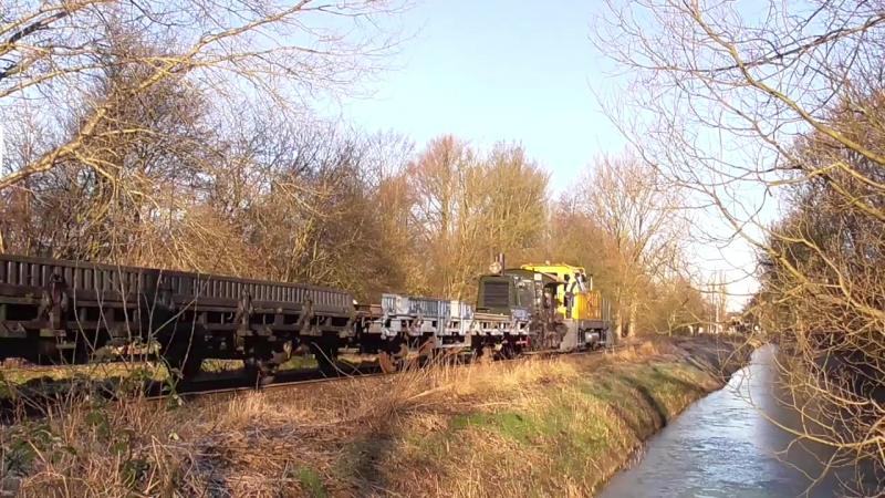 BEMO BRD 150 rijdt testritten over de SHM-lijn in Hoorn !