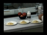 Действие микрогидрина на яблоко