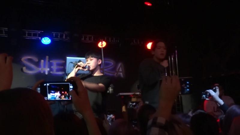IKON –취향저격(MY TYPE) live Cover Goldmund (Omsk 03.11.2016)