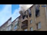Прыжок семьи с детьми из окна горящей пятиэтажки сняли на видео под Владимиром
