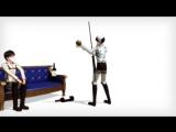 【MMD】Levi & Eren — Levi Durns
