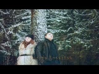 Белым снегом в исп.Владимир Захаров и группа Рок Острова с русской песней Белым