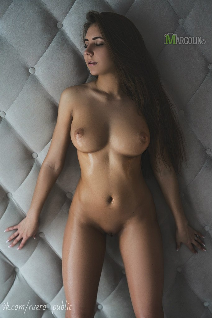 Nude female sex massage