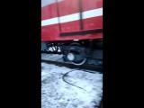 метро поезд юбилейный заходит в депо Автово тч-1
