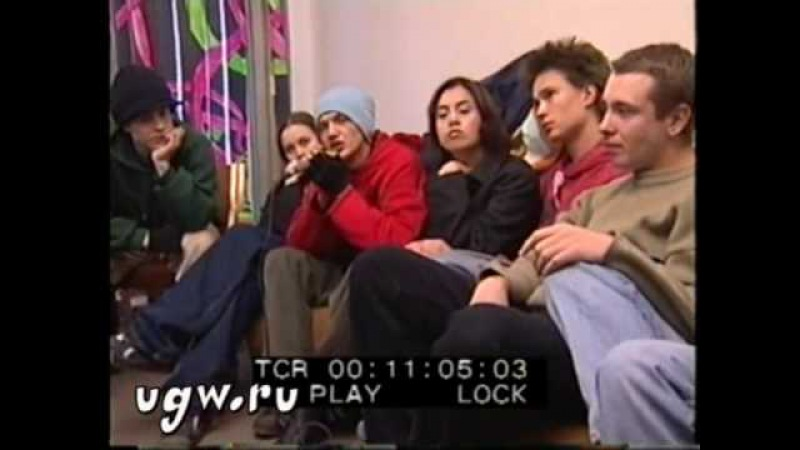 Интервью @ RAPMUSIC 1999 Экипаж, Бланж part 1