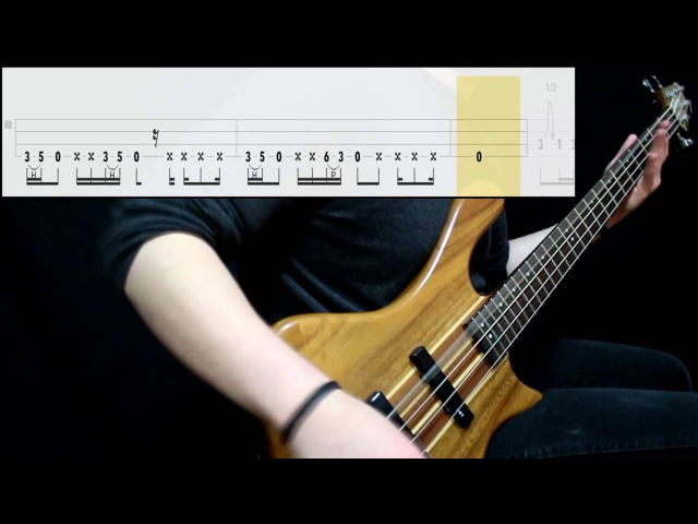 Pantera - 5 Minutes Alone (Bass Cover) (Play Along Tabs In Video)