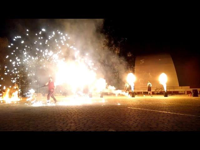 Піротехніка з машинами вогню (спецефекти фаєр шоу від FIRE LIFE) - Ужгород