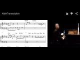 Keith Jarrett Piano Transcription with Video