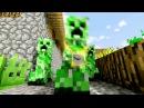 Крипер Рэп Песня про Minecraft CREEPER RAP Русский перевод
