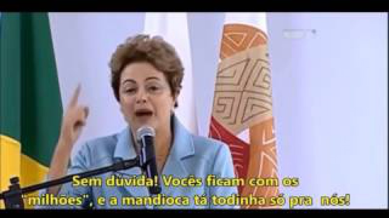 Diferença entre Margareth Thatcher e Dilma Roussef...