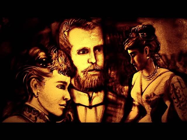 Песочный фильм Белый Ангел Sand art film White Angel памяти Елизаветы Фёдоровны