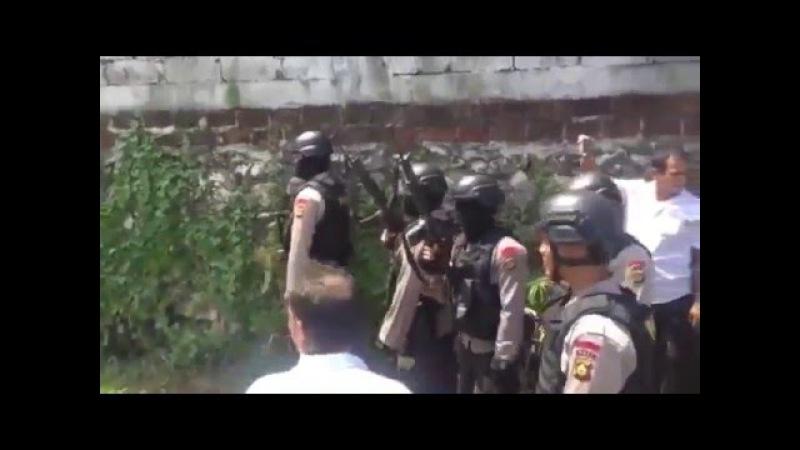 Полиция Бали всадила более 10 пуль в экс бойца MMA