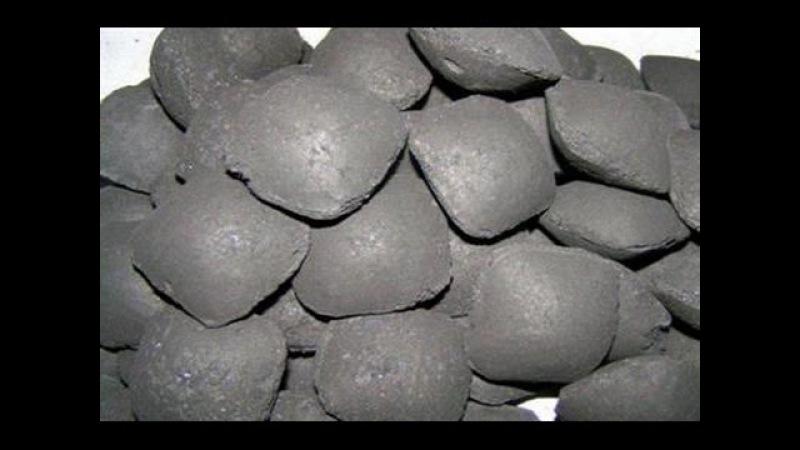 Пресс станок угольного брикета