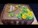 Как сделать ТОРТ КНИГУ Украшаем торт кремом в домашних условиях Cake decorating Украше
