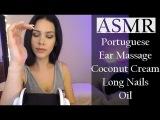 ASMR - Ear Massage + Portuguese whispersMassagem nas orelhas + Sussurros