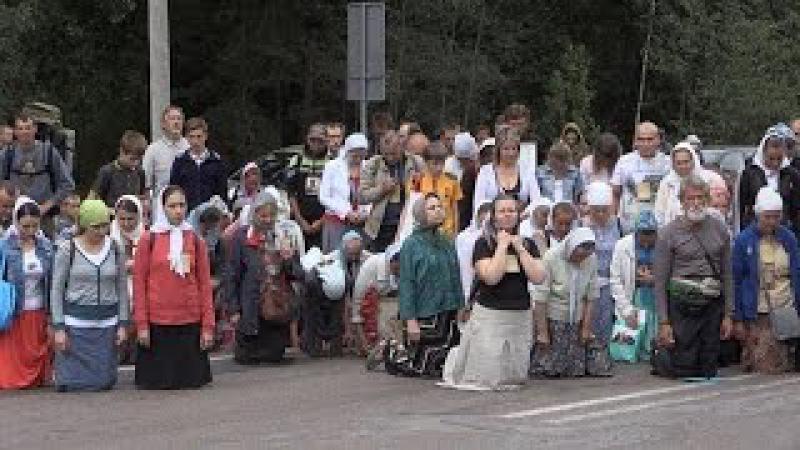 Житомирські активісти зустріли хресну ходу УПЦ МП кричалками про Бандеру - Жито ...