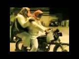 Новички на мотоцикле beginners on motorcycle