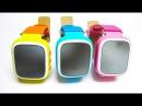 ХИТ 2016 Детские умные часы - Smart Baby Watch Q80 с GPS-трекером и кнопкой SOS, Цветной экран