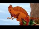 Поезд Динозавров ВЫПУСК 15 про Спинозавра и Стегозавра Мультик в HD про динозавро ...